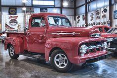 1952FordF1 1951 Ford Truck, Ford Pickup Trucks, Antique Trucks, Vintage Trucks, Antique Cars, Vintage Toys, American Dream Cars, Classic Trucks, Ford Classic Cars