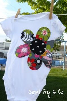 Melon Days is our little towns biggest event of the year. It is a small town affair but it has everything a good celebration should have: u. Baby Applique, Applique Monogram, Embroidery Applique, Applique Ideas, Sewing For Kids, Baby Sewing, My Baby Girl, Baby Love, Sewing Appliques