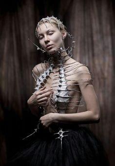 Photographer/Stylist: Maciej Grochala Photography Model: Madeleine Bronx  #DarkBeauty #DarkBeautyMag #fashion #photography