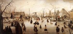Зима на картинах малых голландцев. - Форум о компьютерной графике ART-Talk.ru