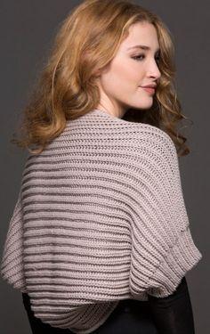 Olimpia Shrug in Zara Plus Knitting Pattern
