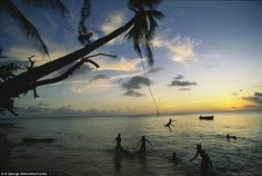 People often say a place is in the middle of nowhere, but Kiribati really is, with the nearest civilisation five hours north in Hawaii