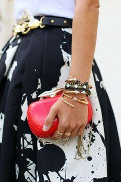 #skirt #clutch