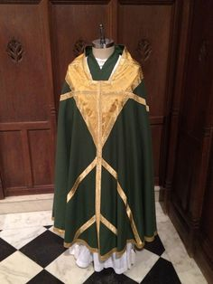Offering this set of vestments for $850.00 if someone is willing to buy by Paypal. The Sisters desperately need funds to continue their work. They need a new sewing machine and serger asap.