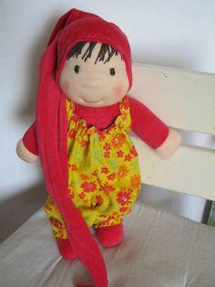 Waldorf doll waldorf inspired doll steiner doll organic от bemka