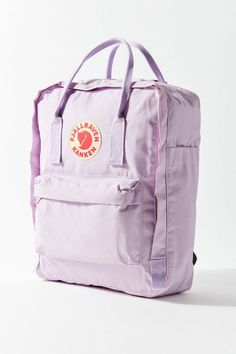 Shop Fjallraven Kanken Backpack at Urban Outfitters today. Mochila Kanken, Cute Backpacks, School Backpacks, Teen Backpacks, Leather Backpacks, Leather Bags, Aesthetic Backpack, Top Casual, Indie Outfits