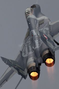 Going Ballistic, MiG29 | by AirTeam Canon, via 500px