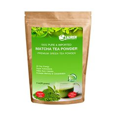 Pure Organic Matcha Powder Tea: Imported Green Tea from Japan -- Risk Free Full Money Back Guarantee 3 oz -- Read more  at the image link.