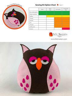 pre-cut felt patterns- sewing kits Sewing Kits, Sewing Box, Sewing Basics, Felt Patterns, Pdf Patterns, Masters, Pikachu, Master's Degree, Felt Templates