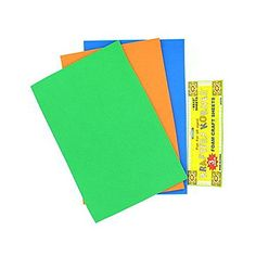 This 3 pack foam craft sheet is perfect for all crafting needs. Can be used for school projects or home...