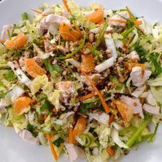 Oriental Chicken Salad with Crunchy Ramen Noodles