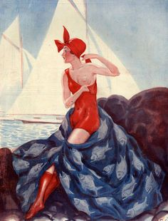 Illustration by George Pavis For La Vie Parisienne 1925