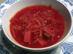 My recipe for Borscht - the ultimate Russian comfort food.