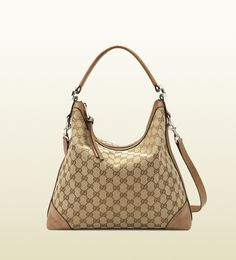 Gucci bag: miss GG original GG canvas hobo The One That Will BE MINE!!!!!!!