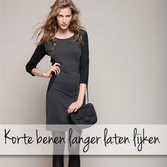 Hoe maak je korte benen optisch langer? Lees dit tips van de styliste van Dresses Only.