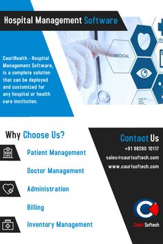 Are you running a hospital? You will need excellent hospital management software system that is mandatory for all modern day hospitals to meet the demand for high-quality services.