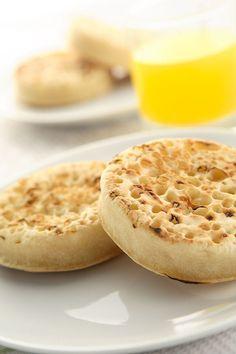 Gluten-Free Crumpets