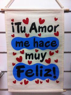 Letrero en manta, lo encuentras en Regalos Amer, México DF 55246977 Parroquia 711, col del Valle. México.