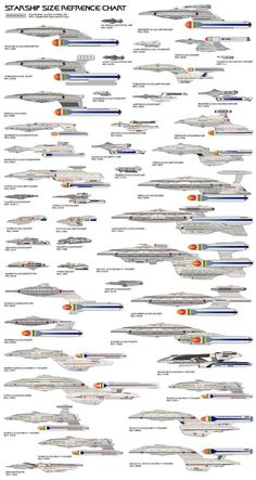 starship size refrence IIII by jbobroony on DeviantArt Star Trek Starships, Star Trek Enterprise, Star Trek Voyager, Star Trek Legacy, Star Trek Tattoo, Deep Space Nine, Star Trek Posters, Star Trek Cast, Starfleet Ships