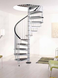 Arke Civik Spiral Staircase | Italian DIY Stair Kit