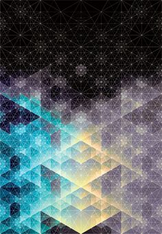 Beautiful geometric artwork #Inspiration