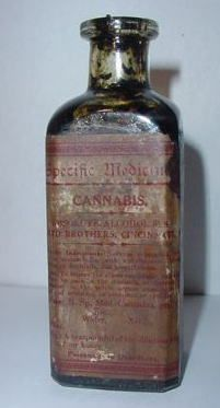 Contrary to popular belief, Cannabis was not outlawed outright in 1937.     This bottle of tincture Cannabis, sold by the Lloyd Brothers Co., from 1880 to 1941 is proof that NOT all pharmaceutical manufacturers stopped making/marketing Cannabis products in 1937.