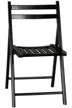 Extra folding chairs.