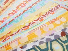Amy Butler Fabric Midwest Modern Collection Fat Quarter Bundle FQMidwest