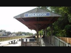 folkston viewing platform | ... made of the folkston train viewing platform in folkston georgia
