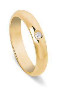 http://www.lemienozze.it/operatori-matrimonio/gioielli/fedi-per-il-matrimonio/media  Fede classica in oro giallo con diamante