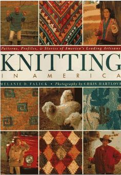 Knitting in America - Melanie D. Falick | Tichiro - knits and cats