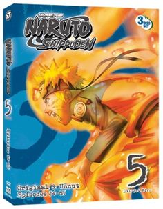 Naruto: Shippuden DVD Set 5 (Hyb) Uncut #RightStuf2013