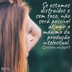 http://arata.se/pp17  Se estamos distraídos e sem foco não será possível atingir o máximo da produção intelectual. __________________________________________________________________________ #ArataAcademy #ArataAcademyPORTUGUESE #AutoDesenvolvimento #Domínio #edtech #elearning #instadaily #PhotoOfTheDay #PicOfTheDay #Produtividade #SeiitiArata #vida #portugues #foco