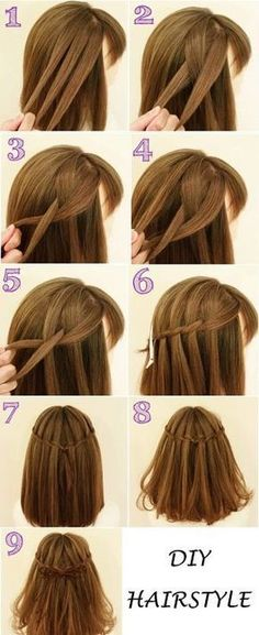 170 Easy Hairstyles Step By Step Diy Hair-styling Can Help You To Stand Apart Fr. 170 Easy Hairstyles Step By Step Diy Hair-styling Can Help You To Stand Apart From The Crowds - Hair Styles - Hair Style Ideas Trendy Hairstyles, Braided Hairstyles, Easy Diy Hairstyles, Wedding Hairstyles, Step By Step Hairstyles, Hairstyles Pictures, Beautiful Hairstyles, Long Hair Models, Braid Styles