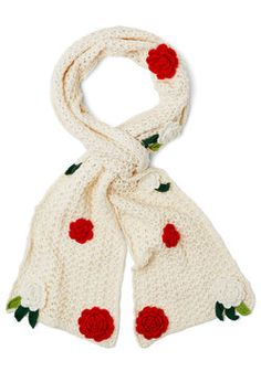 Changing of the Garden Scarf; $17.99, December 20, 2013 (for my mom.) #ModCloth
