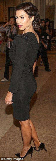 Kim Kardashian 50's Hair