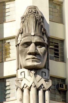 detalhe Edifício Acaiaca, Belo Horizonte, Brasil