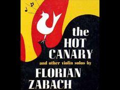 Florian Zabach: The Hot Canary (Nero) - 1951 Decca Recording, 10 inch LP