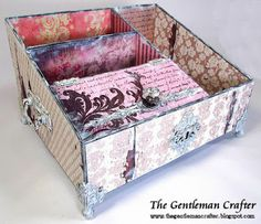 The Gentleman Crafter: Carol's Caddy! A New Project- Done!