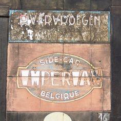 side-car IMPERIAL Belgique (Rue d'Ophem 16 a Bruxelles -Belgique)