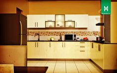 What makes a modern kitchen? Sleek design, maybe. Utility, obviously.