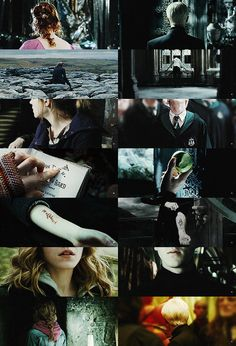 """abraxaes: """"""""→ body parts + dramione: requested by ladyhermiones"""" """""""