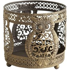 Lovely ---> Owl Candle Sleeve