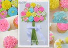 We've Picked You Some Cupcake Flowers- A Blog Tutorial