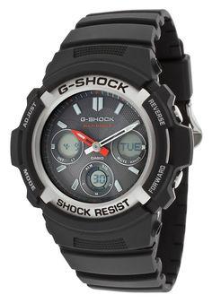 Casio Men's AWGM100-1ACR Tough Solar Power Multi-Band Atomic G Shock Watch