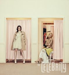 Secret - The Celebrity Magazine March Issue 2014 Celebrity Magazines, Korean Outfits, Korean Clothes, Meet Singles, Korean Artist, Cute Outfits, Pastel, Celebrities, Spring