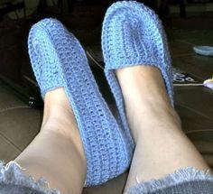 Tracy's Crochet Bliss: Crochet Slippers (Babbucce) FREE PATTERN
