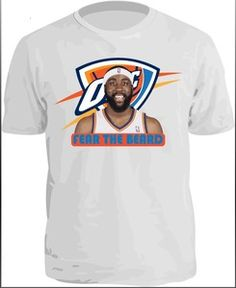 Tight shirts for the Playoffs! Go OKC!