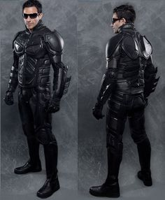 If It's Hip, It's Here: Please Don't Wear The Utility Belt. Dark Knight Replica Leather & Kevlar Motorcycle Suit.