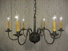 290 m old vintage early american antique rustic colonial old vintage early american antique rustic colonial primitive looking handcrafted tin chandelier mozeypictures Image collections